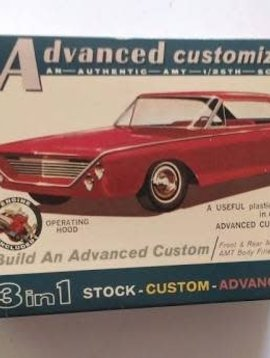 AMT Amt '63 Ford 500 Xl Sports Hardtop 3in1 Model Car Kit 6003 Sealed