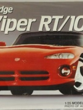 AMT Amt #6808 Dodge Viper Rt/10 1/25 Scale Model Kit