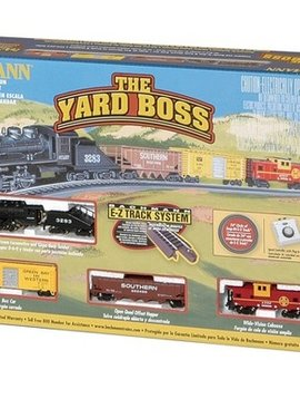Bachman BAC24014 N Yard Boss Train Set