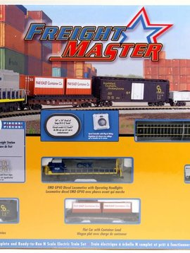 Bachman BAC24022 N Freightmaster Train Set
