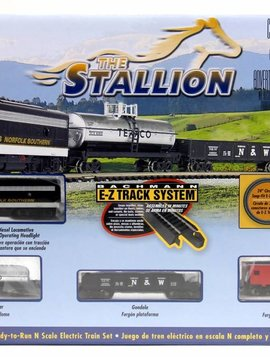 Bachman BAC24025 N The Stallion Train Set