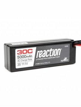 Dynamite DYN9007EC Reaction 11.1V 5000mAh 3S 30C LiPo Hard Case: EC3