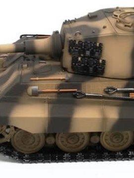IMEX R/C 2.4 Ghz German King Tiger w/ Smoke and Sound