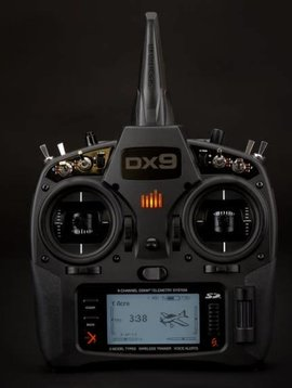 spektrum SPMR9910 DX9 Black Transmitter Only MD2