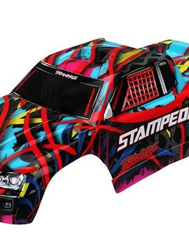 Traxxas tra3649 Body, Stampede, Hawaiian Graphics (painted, decals applied)