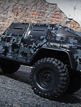 Traxxas 82066-4_CAMO TRX-4 Tactical Unit: 4WD Electric Truck with TQi Traxxas Link Enabled 2.4GHz Radio System