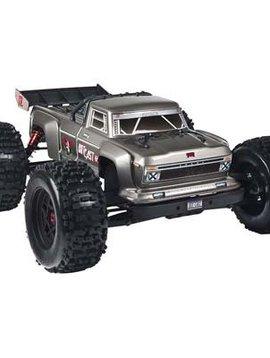Arrma AR106032 1/8 Outcast 6S Stunt Truck 4WD Silver