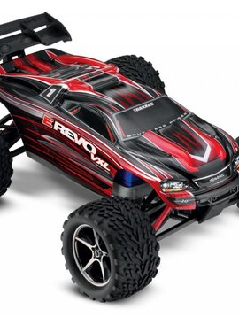 Traxxas 71076-3 - E-Revo VXL: 1/16-Scale 4WD Racing Monster Truck with TQi Traxxas Link Enabled 2.4GHz Radio System & Traxxas Stability Management (TSM)
