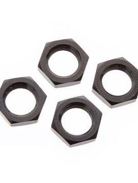 Arrma AR310449 Wheel Nut Aluminum 17mm Black (4)