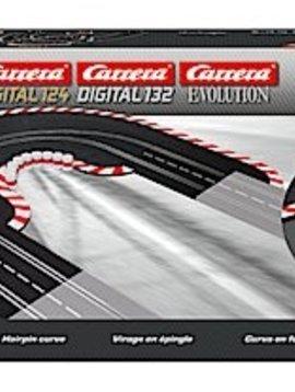 carrera Carrera 20613 Hairpin Curve 1/60, Digital 124/132 & Analog