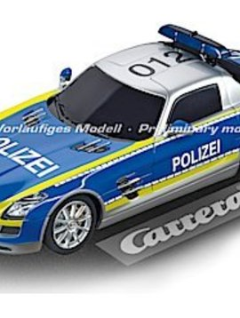 "carrera Carrera 30793 Mercedes-SLS AMG ""Polizei"", Digital 132 w/Flashing Lights"