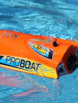 "Proboat PRB08031T1 Jet Jam 12"" Pool Racer, Orange: RTR"