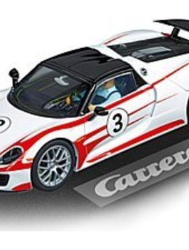 carrera Carrera 30711 Porsche 918 Spyder, No.3, Digital 1/32 w/lights