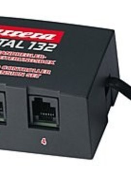 carrera Carrera 30348 Speed Controller Extension Box (Plug in up to 6 Wired Controllers), Digital 124/132