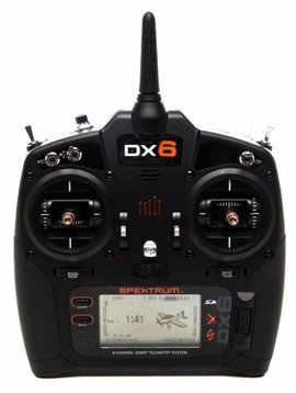 spektrum SPMR6750 DX6 Transmitter Only Mode 2