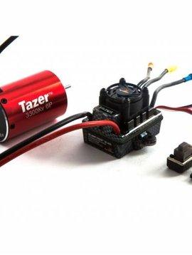 Dynamite Tazer 1/10 6-pole 3300Kv WP ESC/Motor Combo V2