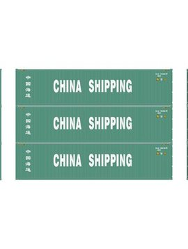 Atherns ATH29178 HO RTR 40' Corrugated Container, China Ship #1 (3)