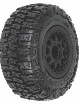 Proline PRO1159-13 Trencher SC 2.2,3.0 M2 Mnt Renegade Wheel,Blk:SLH