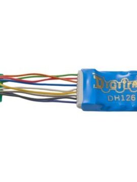 "DGT HO DCC Decoder Series 6,1.2""Wires 2FN 9-Pin 1.5A"