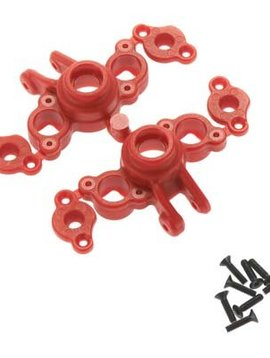 RPM Axle Carriers, Red: 1/16 EVR/SLH