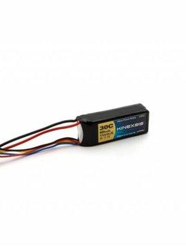 Kinexsis KXSB0010  11.1V 800mAh 3S 30C Lipo, 18AWG, JST