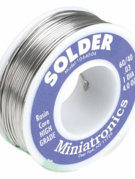 MNT Rosin Core Solder 60/40, 4oz MNT1064004