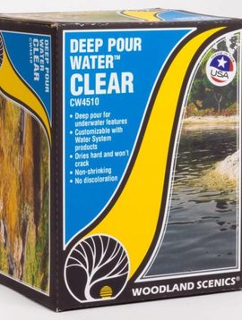 Woodland Scenics WOOCW4510 Deep Pour Water, Clear
