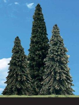 "Woodland Scenics WOOTR3568 Classics Tree, Forever Green 4-6"" (4)"