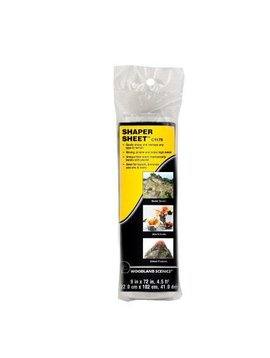 "Woodland Scenics WOOC1178 Shaper Sheet, 9"" x 72"