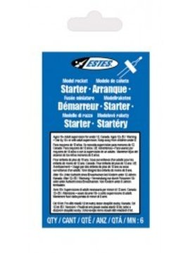 ESTES EST2302 Solar Model Rocket Starters