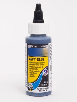Woodland Scenics WOOCW4519 Water Tint, Navy Blue