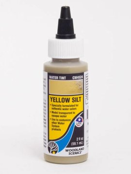 Woodland Scenics WOOCW4524 Water Tint, Yellow Silt
