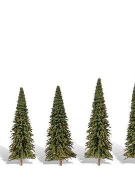 "Woodland Scenics WOOTR3565 Classics Tree, Forever Green 2.5-4"" (5)"
