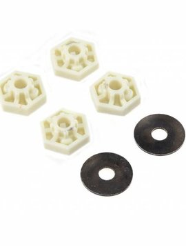 Dynamite DYNW0050 420 Series Hex Adapter Set (4): TRA, HPI