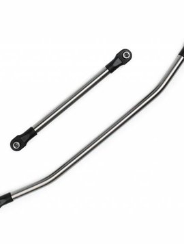 vanquish Incision 1/4 Stainless Steel Drag Link and Tie Rod Kit: Wraith (VPSIRC00041)