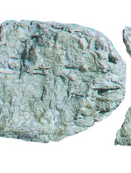 Woodland Scenics WOOC1235 Rock Mold, Laced Face Rock
