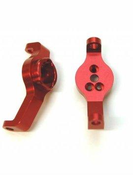 STRC STRT8232R Aluminum Front Axle Caster Blocks TRX-4 Red