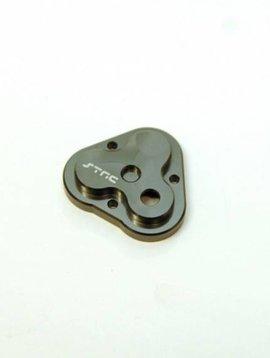 STRC ST8291GM CNCAluminum Center Gearbox Housing Cover, Gun Metal: TRX-4