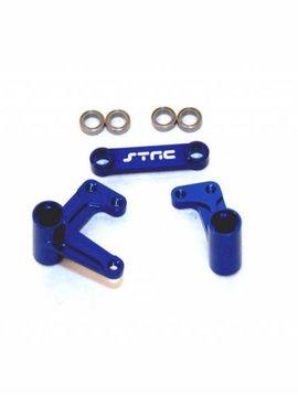 STRC ST3743XB Alum Steering Bellcrank System w/Bearings Rust