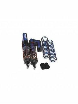INT MSR9 Rear Piggyback Shock, Blue (2): ST, SLH