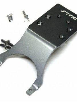 STRC ST3623RGM Mach Alum Rear Skid Plate Slash/Stampede/Mnst
