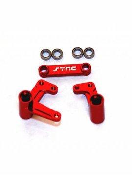 STRC ST3743XR Alum Steering Bellcrank System w/Bearings Rust