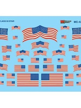 MSI MC4202 HO US Flags, 50-Star 1960+
