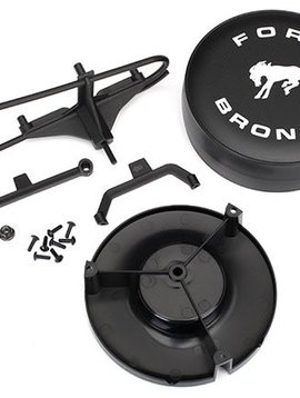 Traxxas 8074 - Spare tire mount/ mounting bracket/ spare tire cover/ mounting hardware