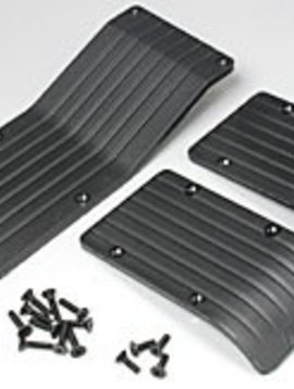 RPM RPM80112 Skid Wear Plate,Black:TMX/EMX(3)