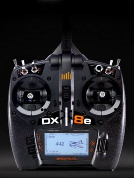 spek SPMR8100 DX8e 8-Channel DSMX Transmitter Only