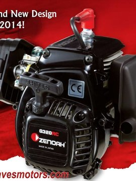 "ddm ESP Modified Zenoah ""G340RC"" 34.02cc 4-bolt engine complete with clutch modified shorty Clutch Housing"