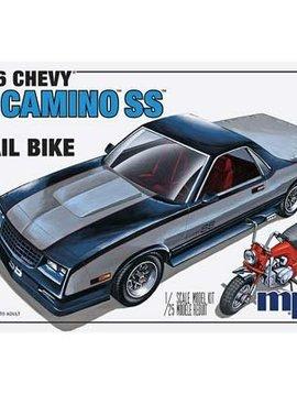 MPC MPC888/12 1/25 1986 Chevy El Camino SS w/Dirt Bike
