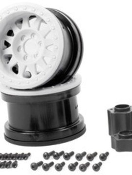 AXI AX31365 2.2 Method Beadlock Wheel IFD White (2)