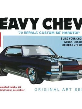 AMT AMT895 1/25 1970 Chevy Impala Heavy Chevy-Original Art